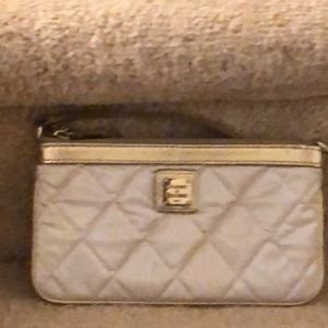 Dooney and bourke quilted wallet.